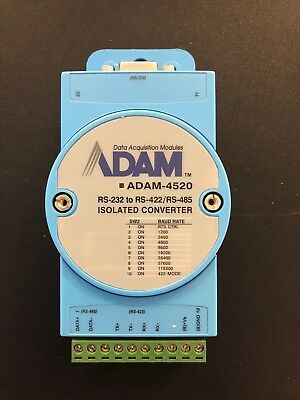 Used Adam-4520 Rs-232 To Rs422Rs-485 Isolated Converter