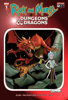 🔥 Rick And Morty vs Dungeons & Dragons #1 Cormack CHROMIUM RED FOIL VARIANT 🔥