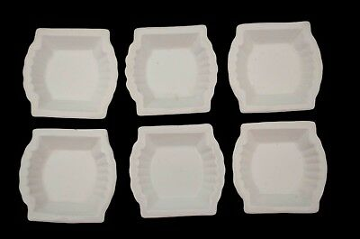 Set of 6 antique Royal Ironstone butter pats by Johnson Bros