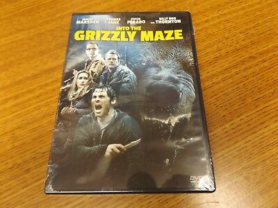 Into the Grizzly Maze (DVD, 2015) - NEW!!
