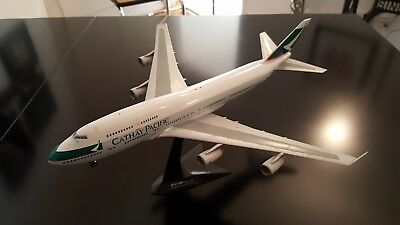 Flugzeug Modell B 747-400 Cathay Pacific, 1:200
