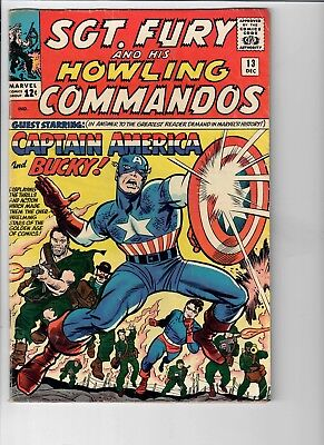 Sgt. Fury and His Howling Commandos #13 CAPTAIN AMERICA