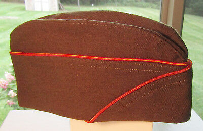 Wwii Em Ordnance Piped Overseas Hat