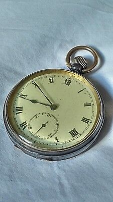 Vintage Pocket Watch Cyma Swiss Made Unusual Watch In Very Good Condition