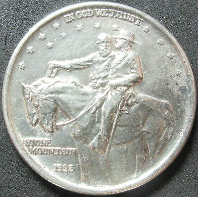 1925 Stone Mountain Half Dollar Coin