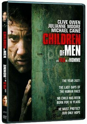 Children of Men (DVD, 2006, Widescreen) Factory Sealed [New]