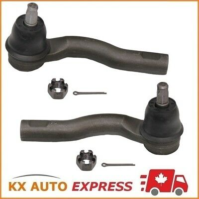 2X Front Outer Steering Tie Rod End for 10-12 Ford Fusion 2.5L 3.0L