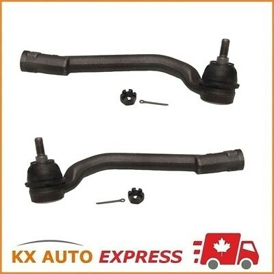 2X Front Outer Steering Tie Rod End for Hyundai Kia