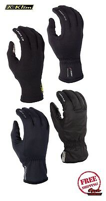 Klim Glove Liner 1.0 2.0 3.0 4.0 Snowmobile Motorcycle Polartec Windstopper New