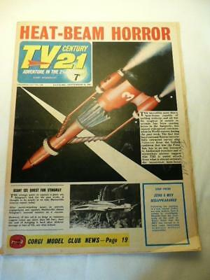 VINTAGE TV21 CENTURY COMIC No 139 16/09/67 GERRY ANDERSON CAPTAIN SCARLET