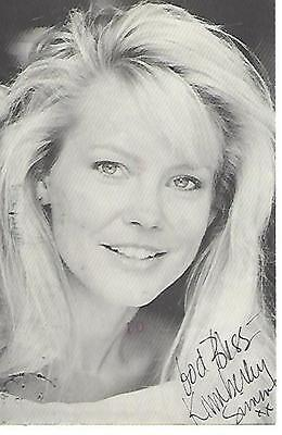 KIMBERLEY SIMMS SIGNED / AUTOGRAPHED 4 x 6 PHOTO POSTCARD ~ THE GUIDING LIGHT