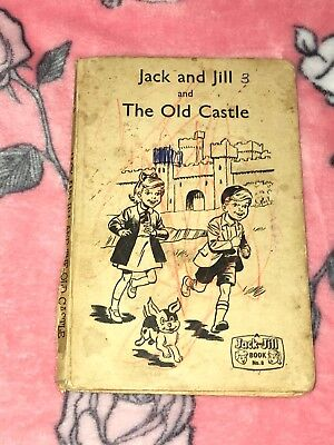 Vintage Jack And Jill And The Old Castle Book Dated 1962