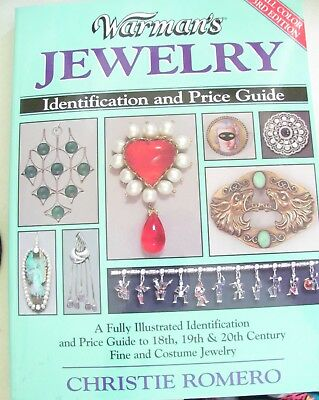 Softcover Book Warman's Jewelry ID & Price Guide Christie Romero 3rd Edition2002