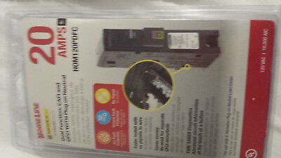 NEW Square D HomeLine 20A CAFI & GFCI Plug-on Neutral Circuit Breaker HOM120PDFC