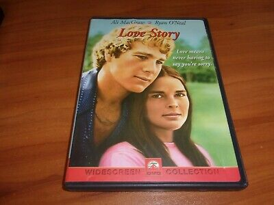 Love Story (DVD, Widescreen 2001) Ryan O'Neal, Ali MacGraw Used