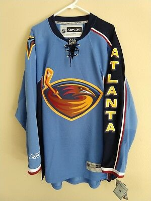 ... discount code for nwt atlanta thrashers nhl hockey jersey blue size xxl  7a833 dd993 034687b54