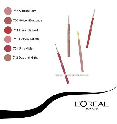 L'OREAL INFALLIBLE LIP LINER x1 (different colours available)