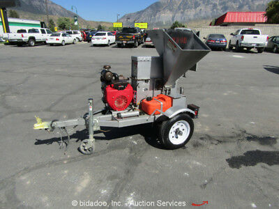 "2013 Dosko 2022 Towable Wood Chipper 20"" x 20"" Hopper Honda GX620 Gas bidadoo"