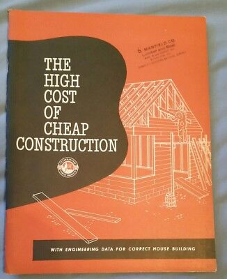High Cost of Cheap Construction - Wayerhaeuser Manfield Co. Lumber Sterling IL
