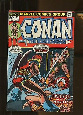 Conan the Barbarian 23 FN+ 6.5 * 1 Book Lot * 1973, Marvel! 1st app. Red Sonja!