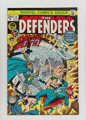 The Defenders #6 (Marvel 1973) VF+ 8.5 Sharp Copy