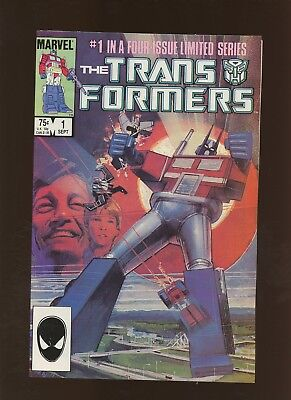 Transformers 1 VF/NM 9.0 * 1 Book * 1st Autobots, Decepticons, Cybertron & More!