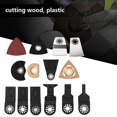 38PCS Oscillating Multi Tool Saw Blades Accessories Kit For FEIN BOSCH MAKITA