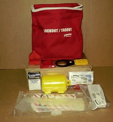 Lockout - Tagout w/ Red Pouch in Original Box by Prinzing Enterprises