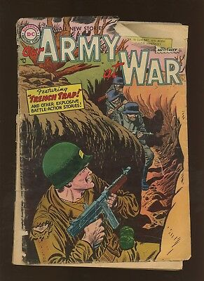 Our Army At War 39 FR 1.0 * 1 Book Lot * Golden Age DC 1955! War! Ross Andru!
