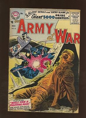 Our Army At War 52 VG/FN 5.0 * 1 Book Lot * DC War! Russ Heath! Ross Andru!