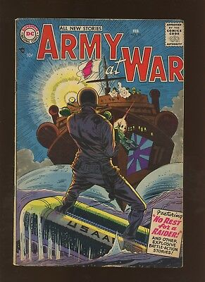 Our Army At War 55 FN+ 6.5 * 1 Book Lot * DC War! Russ Heath! Ross Andru!