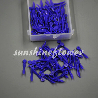 500 Pcs Dental Poly-wedge Available Plastic with Holes large Wave Shape Wedges