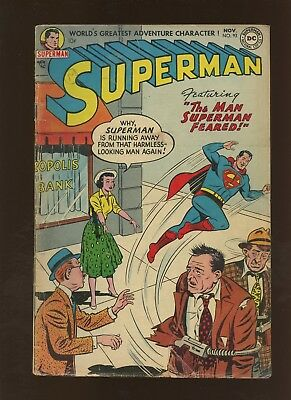 Superman 93 GD/VG 3.0 * 1 Book Lot * Golden Age DC 1954!
