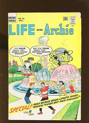 Life with Archie 31 VG 4.0 * 1 Book * 1964, Archie gang visits the World's Fair!
