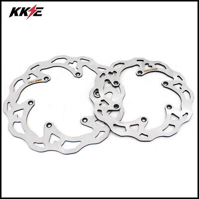 260Mm & 220Mm Front And Rear Disc For Ktm Sx Sxf Xc Xcw Exc Xcwf 200 250 450 350