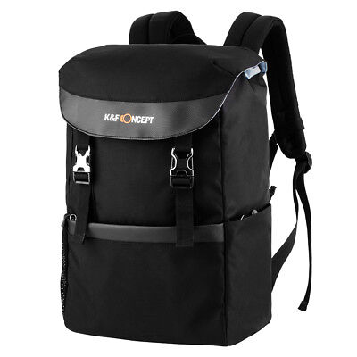 K&F Concept Camera Travel Backpack Waterproof Large Capacity Fit 13.3'' Laptop