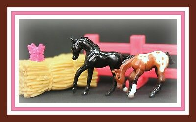 ❤Breyer Horse Mini Whinnies Surprise Series 2 HERO & BLAZE Grazing Romping Foal❤