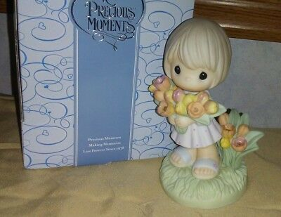 2007 Precious Moments You Color My World With Your Love Figurine