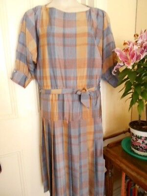 Vintage Dress By Mark Shaw With Dolman Style Sleeves