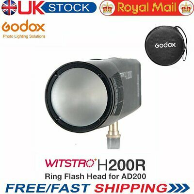 UK Stock Godox H200R Ring Flash Head Separation Extension Head For AD200 Flash