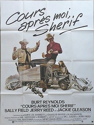 "SMOKEY AND THE BANDIT/ORIGINAL FRENCH POSTER 47x64""/BURT REYNOLDS/SALLY FIELD"