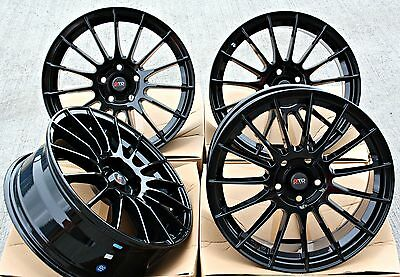 "17"" Dtd Dg1 Gb Alloy Wheels Fit Ford Transit Connect Edge"