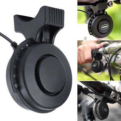 Bicycle Electric Bell USB Charge Bike Cycling 120db Handlebar Ring Bell Horn CHL