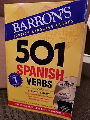 Barrons Foreign Language Guide 501 Spanish Verbs (501 Verb Series) WITHOUT CD