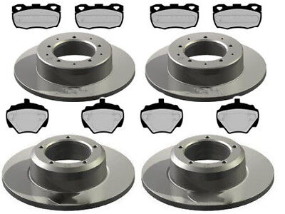 Fits Land Rover Defender 2.5 90,110 TDI EuroBrake Front Vented Brake Discs Set