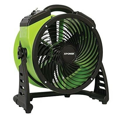 "XPOWER FC-200 Pro Air Circulator, Carpet Dryer, Floor Fan, Blower - 13"" Diamete"