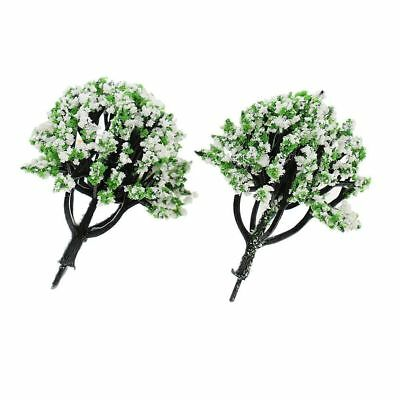 Set of 2 Buy 3 Save $5 Miniature Fairy Garden Yellow Trees//Shrubs