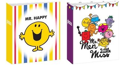 "2 PACK Mr Men & Little Miss  7""x 5""/19x13cm Slipin Memo Photo Album 204 Photos"