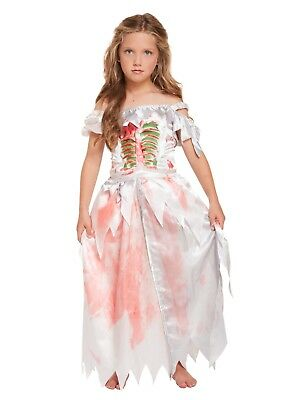 Halloween Costumes For Kids Girls Zombie.Girls Fancy Dress Zombie Daughter Halloween Costume Kids Scary Fairy Ages 4 12
