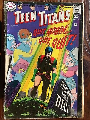 Teen Titans 14 Dc Comics